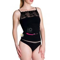 T- Shirt adelgazante cosmético textil 'Lace' Miss Beauty.